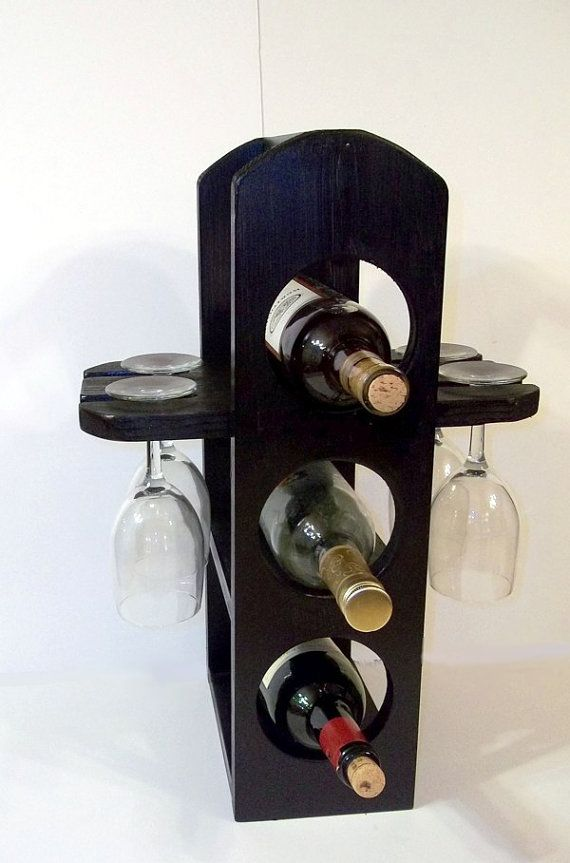 Unique wine rack stemware rack in Apple Green is by MichelleNapier, $40.00