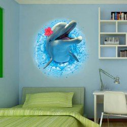 SHARE & Get it FREE   3D Stereo Dolphin Leaping Out The Sea Design Removable Wall StickersFor Fashion Lovers only:80,000+ Items • New Arrivals Daily • Affordable Casual to Chic for Every Occasion Join Sammydress: Get YOUR $50 NOW!