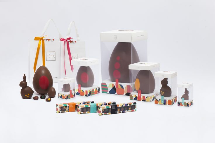 Enjoy the Art of Easter. All the sweetness and no sugar. #lafetechocolat