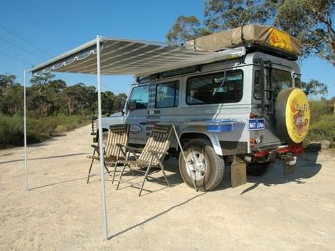 Eezi Awn Series 2000 2 5m Awning Car Awnings Overlanding Jeep