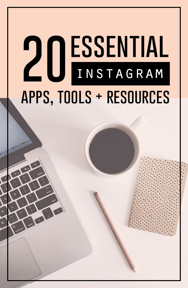 Twenty of the best Instagram editing apps, tools, platforms and other resources…