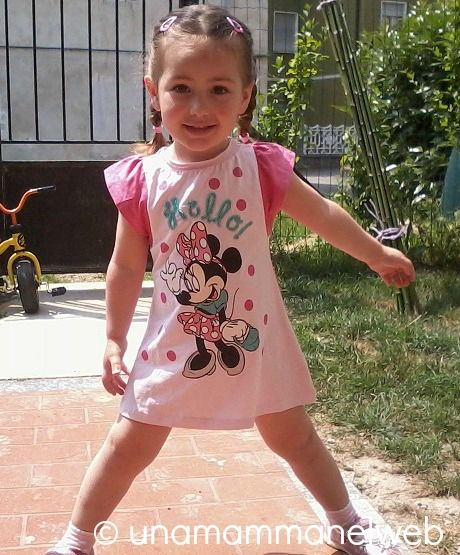 Una Mamma nel Web: Kid Outfit: Vestitino Minnie OVS Disney