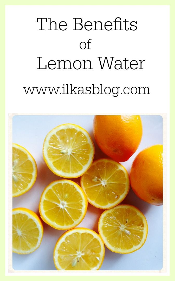 The Benefits of drinking Lemon Water every day!  #healthy #detox #cleanse #clean #lemon