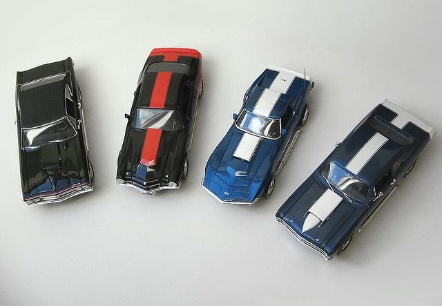 1/18 Chevrolets tuned by Motion Performance for quarter-mile races  '68 Corvette SS 427  '68 Chevelle SS 427  '69 Nova SS 427  '70 Camaro SS 454     Our photo blog: http://divinumphoto.com