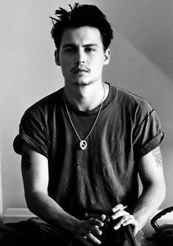 a young johnny depp