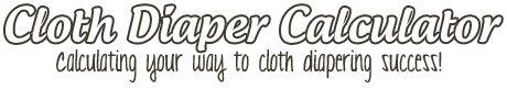 Cloth Diaper Calculator