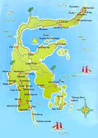 Sulawesi Island overview