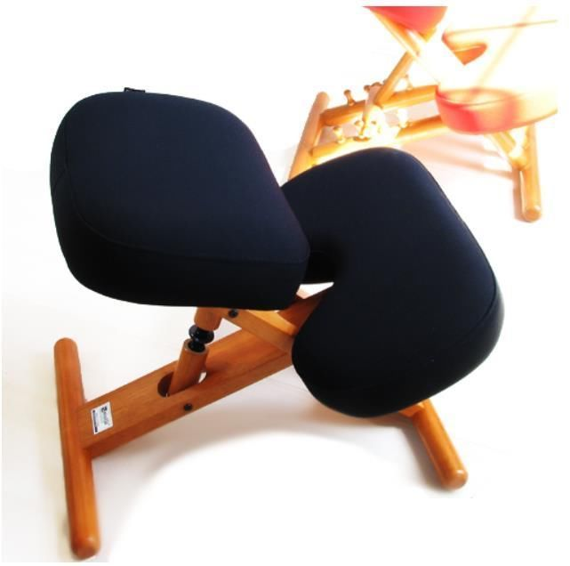 Details about kneeling chair posture stool latex seat pad for Chair kneeling