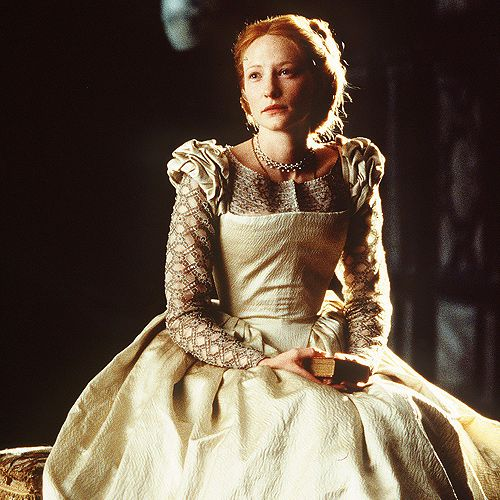 a different style of gown, Elizabeth (1998)