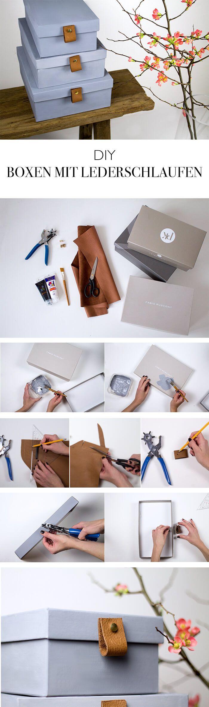 die besten 25 aufbewahrungsboxen pappe ideen auf pinterest kartons mit deckel diy karton und. Black Bedroom Furniture Sets. Home Design Ideas