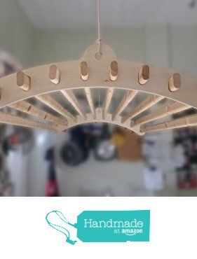 Handmade Wooden Clothes Rack Dryer | Victorian Ceiling Pulley Maid, Laundry Dryer 10 Lath from Branches of Hogan https://www.amazon.co.uk/dp/B01LWMSNNJ/ref=hnd_sw_r_pi_dp_6gR.xb39D1MKR #handmadeatamazon
