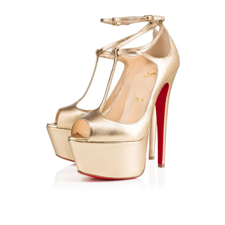Talitha 160mm Light Gold Leather $1195
