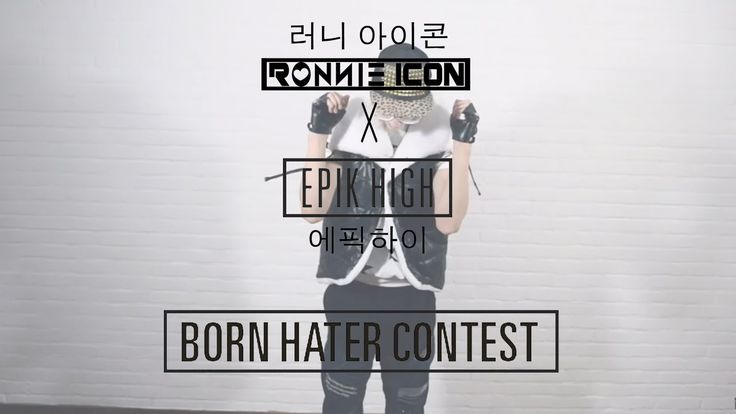 [BORN HATER CONTEST] by Ronnie Icon (Epik High Cover) born hater tablo epik high bobby bi b.i. ikon yg cover covers english kpop k-pop