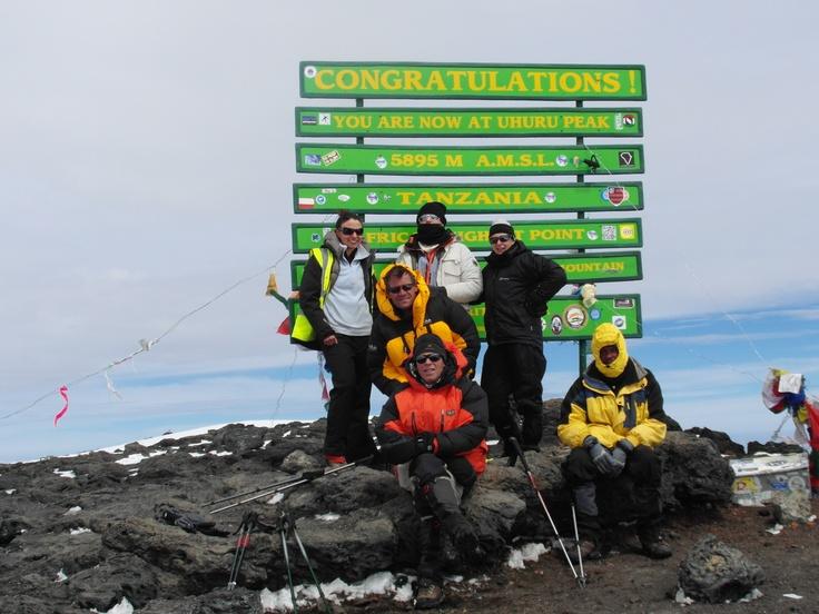 Top of Kilimanjaro 2012