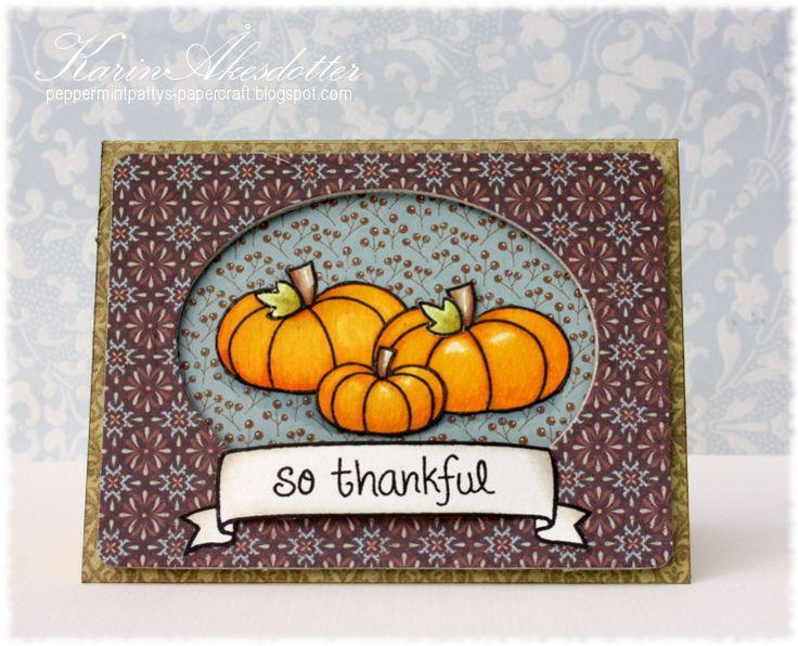 Peppermint Patty's Papercraft: Lawnscaping # 93 Fall/Pumpkins