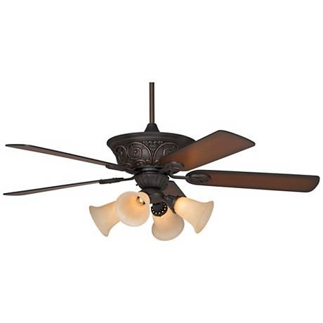 Casa Contessa™ Bronze Ceiling Fan with Light Kit