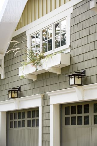 25 best ideas about garage door styles on pinterest for Craftsman style window boxes