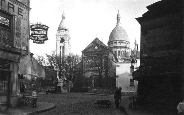 Yvon Image Title:     La Place du Tertre - Paris Year:     c. 1920s