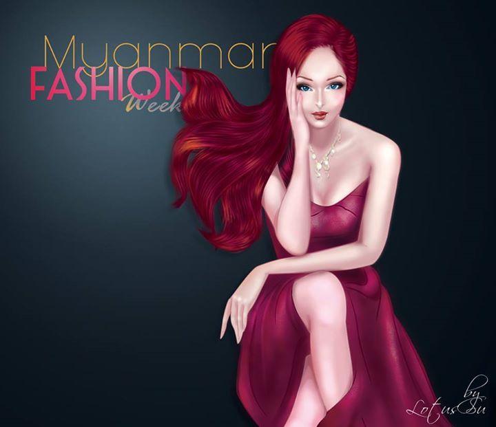#Digital, #Painting , #Art , #2D, #Sun Shine, #barbie, #Cute, #Myanmar, #Girl, #fashion