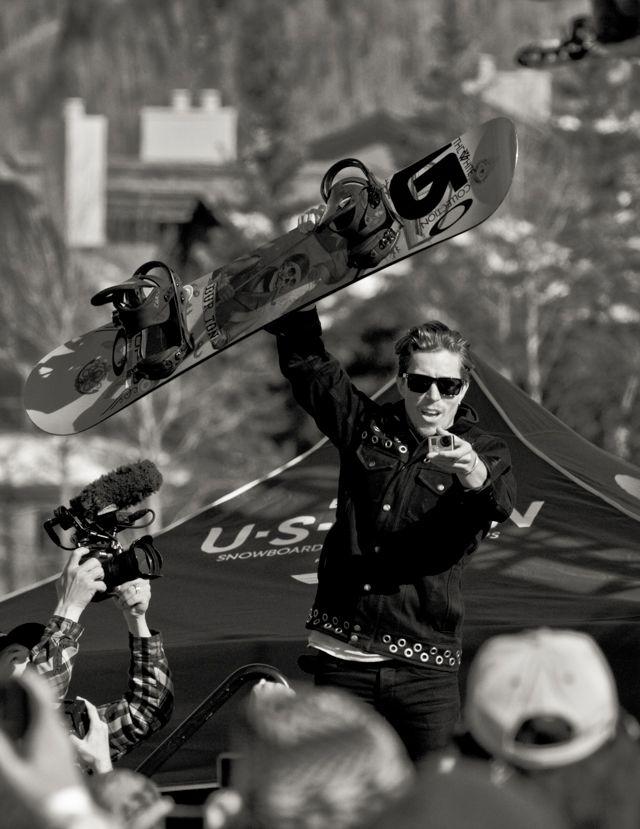 Uncorked: #ShaunWhite - #SnowboarderMagazine #snowboarding