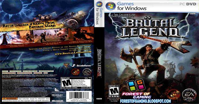 Download Brutal Legend PC Game via Direct Links at ForestOfGaming.blogspot.com
