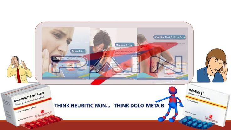 • DOLO-META B (Diclofenac Sodium, Vitamin B, Vitamin B6, Vitamin 12)