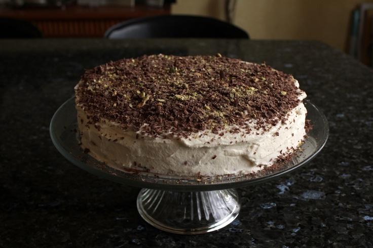 choc-hazelnut macaroon torte @ http://simplehayat.wordpress.com/