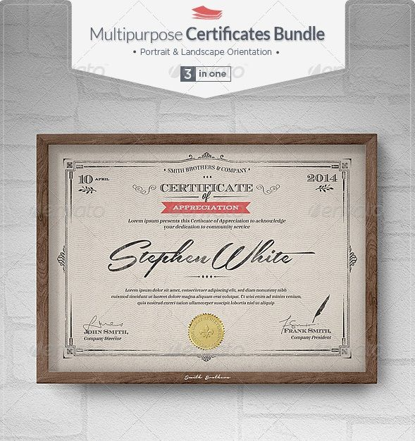 62 best Award certificates images on Pinterest Award - blank stock certificate template free