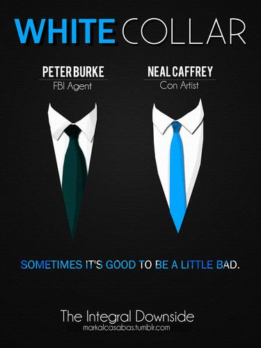 White Collar Poster -  Fan Art