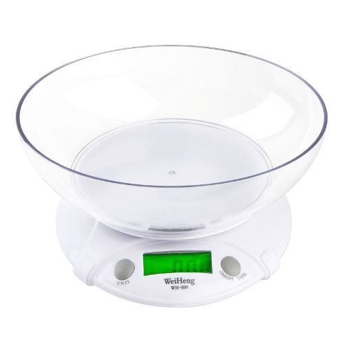 7KG/1G Digital Electronic Kitchen Scales Parcel Food Weight with Bowl