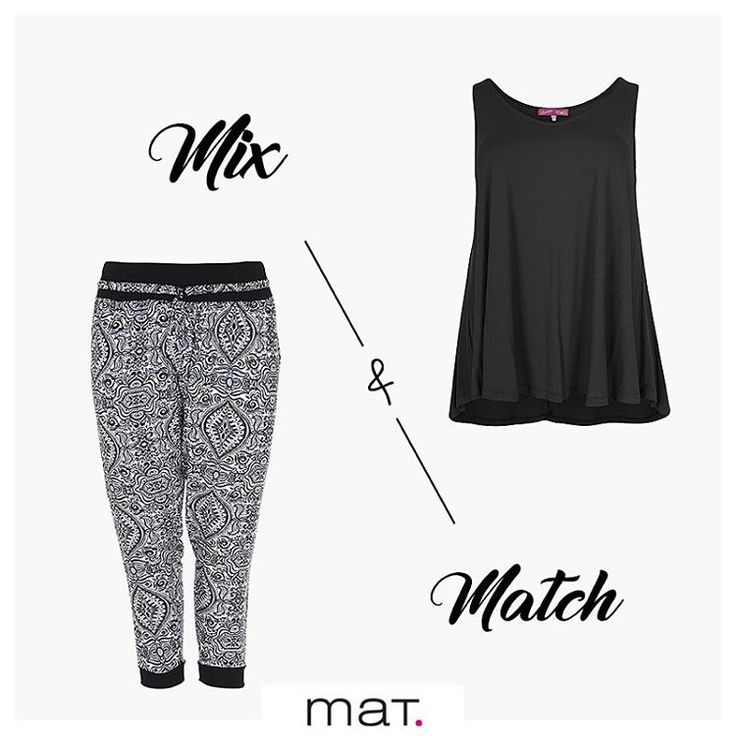 Fashion is having a Mix and Match moment! Enjoy your weekend! #matfashion #style #mixandmatch #realsize #collection #instafashion