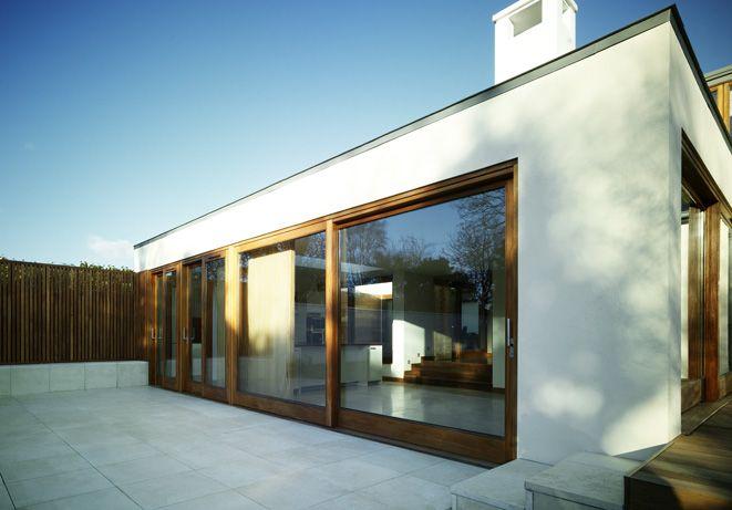 76 best modele maison images on pinterest arquitetura for Extension maison zinc