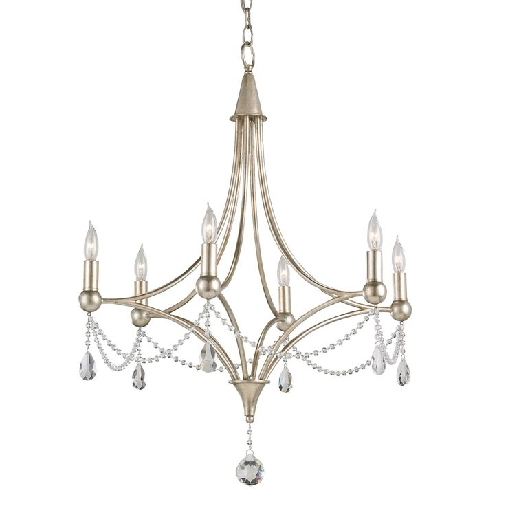 Lovely Currey and Company Etiquette Chandelier