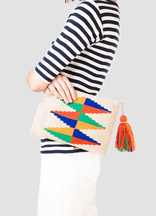 Diamante Wayuu Clutch
