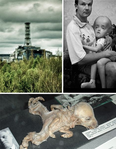 Ukraine might just be the world's creepiest ghost town. This otherwise unremarkable Eastern European city was once home to Chernobyl Nuclear Power Plant workers, but when a nuclear reactor at the plant exploded in 1986, it was abandoned & has stood as a bizarre, deteriorating monument to the disaster ever since. it killed 56 people, but up to 4,000 may have developed cancer fr radiation exposure and it's also implicated in the chromosomal aberrations & neural tube defects of countless…