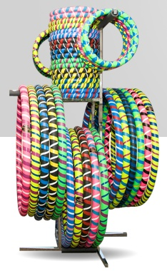 Hula Hoops for fitness--Weighted Exercise Hoop, Small Arm Hoop,  Amazing Fitness Hoops