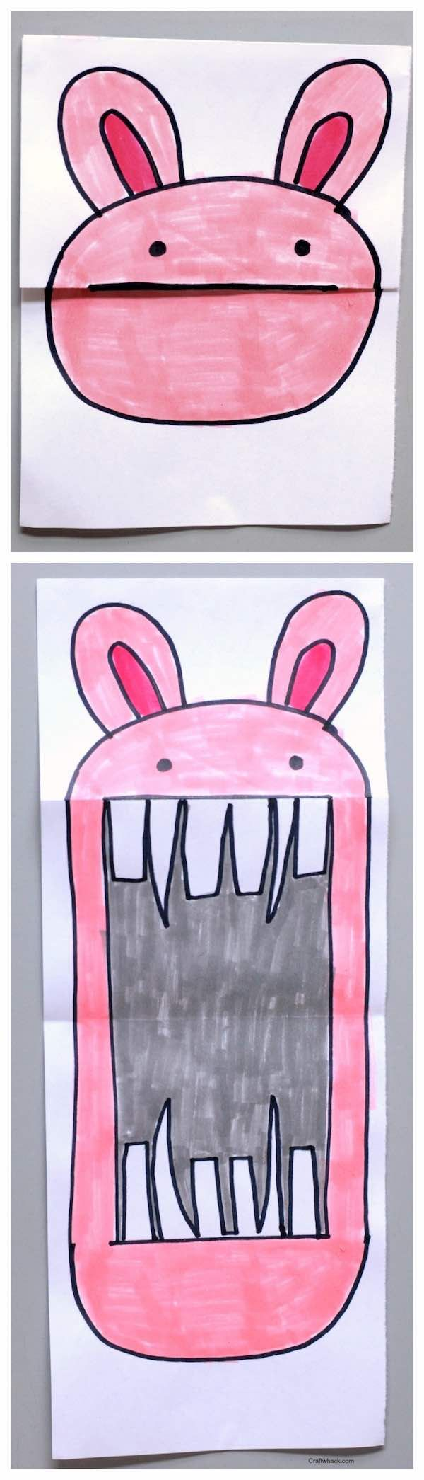 Surprise art for kids