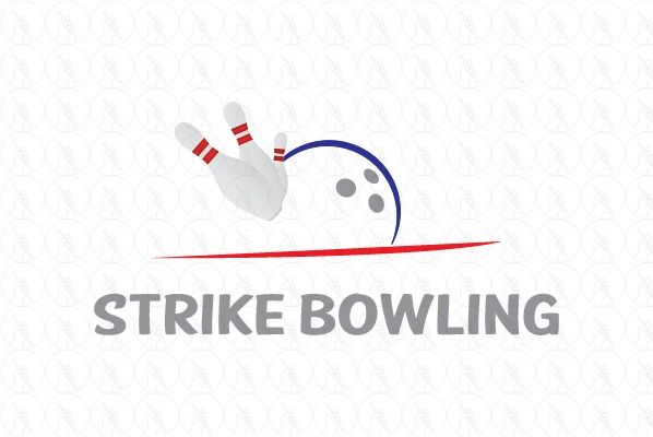 Strike Bowling - $200 http://www.stronglogos.com/product/strike-bowling #logo #design #sale #bowling #alley #bar #supplies #instructions #shop