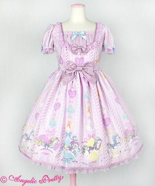 Angelic Pretty Milky Pony Carnivalワンピース