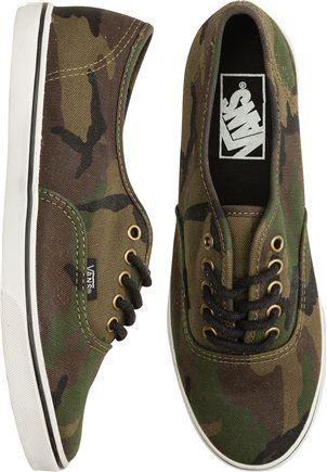 vans prelow denim camouflage shoes
