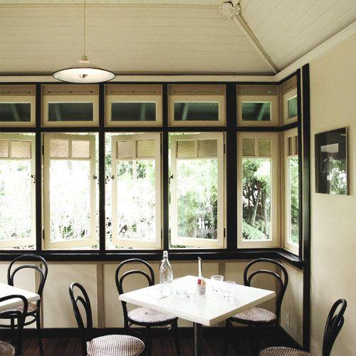 Vaucluse House tearoom.