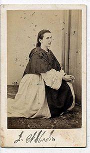Luigia Abbadia- ( 1821- 25.Januar 1896 ) war eine italienische Opernsängerin.