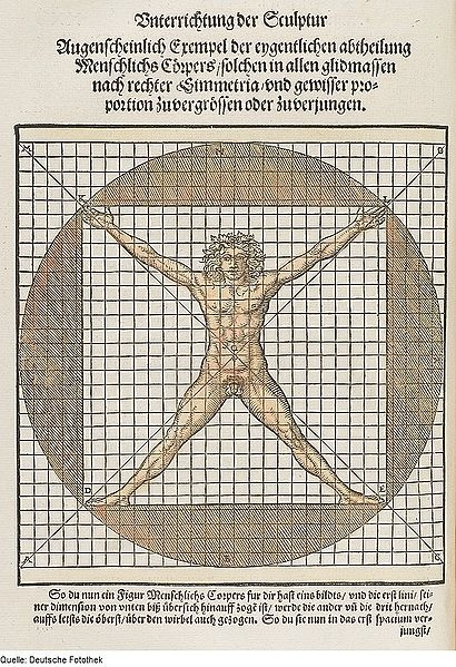 Architektur & Proportion & Figur, 1547