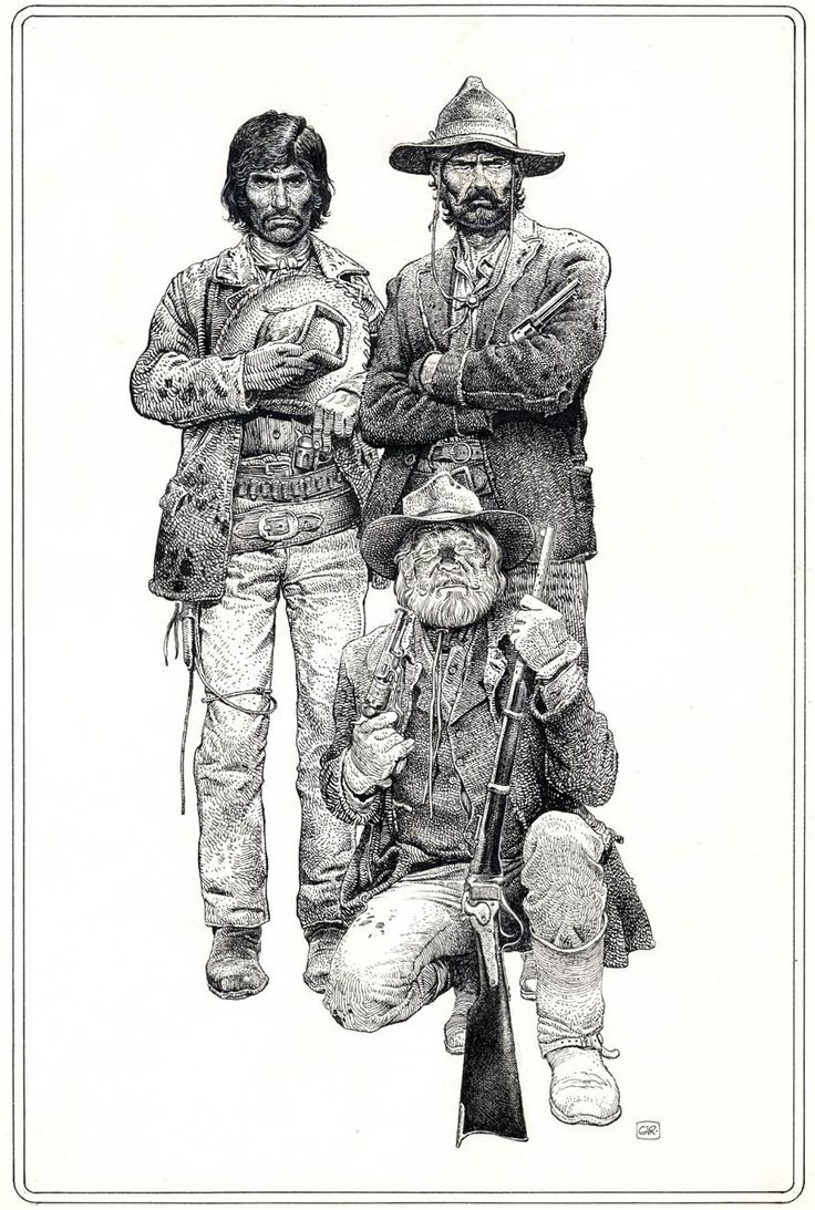 Original art by Jean Giraud in category Illustrations