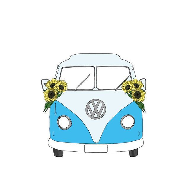 Today a #tbt to this #vwbus that I created around a year ago for a client.  Being a #vwbeetle and #kombi fan and drawing these many of these as a passion project brought me many clients interested in them! So yes to #PassionProjects!   This one is on a canvas adding a whimsical touch to a house in San Jose