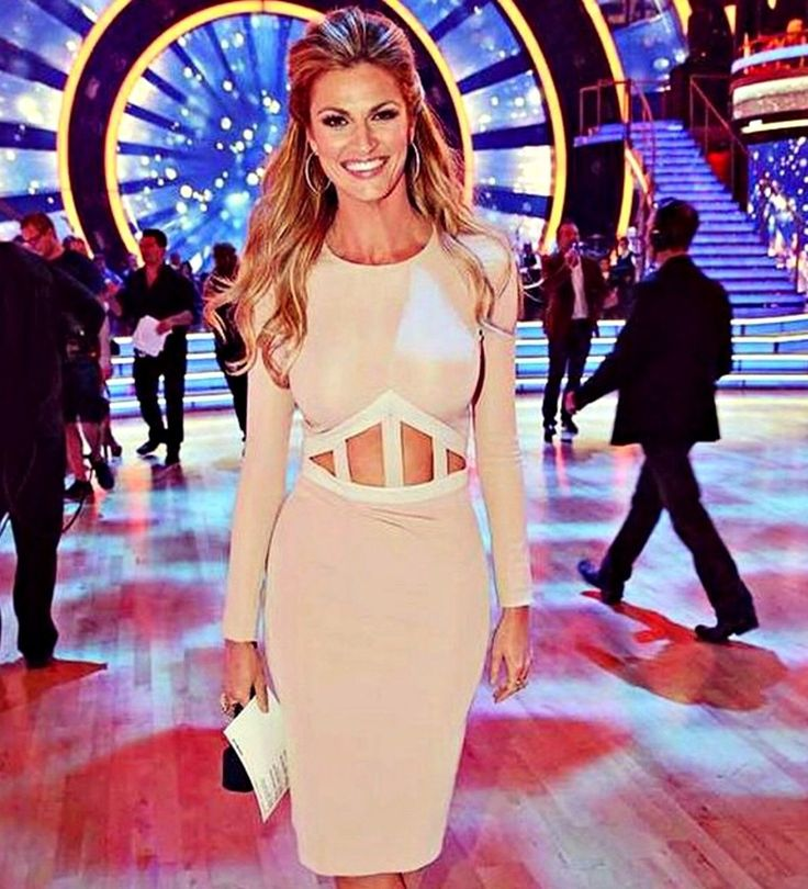 Gerda Spillmann cream makeup in sienna - Erin Andrews on Dancing with the Stars