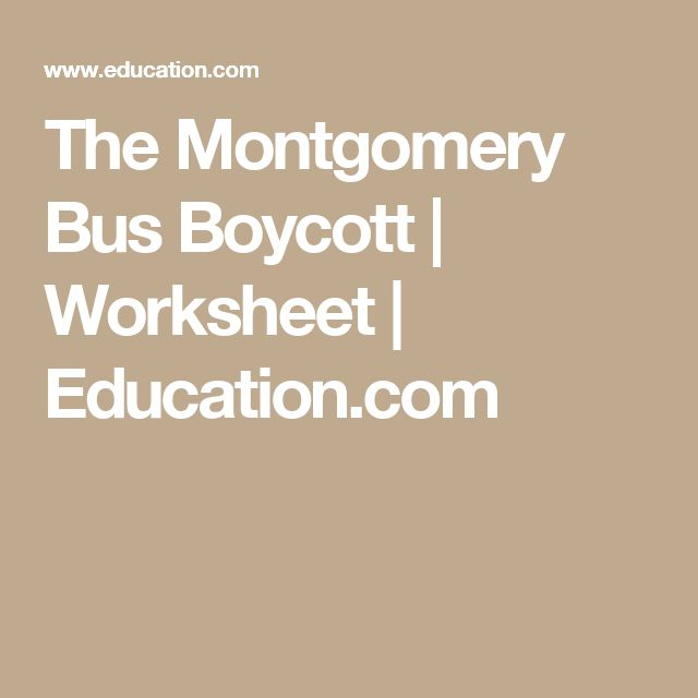 an analysis of the montgomery bus boycott Essay on the montgomery bus boycott, band 6 creative writing responses essay assignment yamuna river pollution essay in english research paper on financial inclusion 2010 how to write a poem analysis essay meaning essay on japanese whaling essay on culture and identity of nepal date.