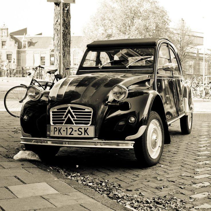 2CV (photo noire et blanc)