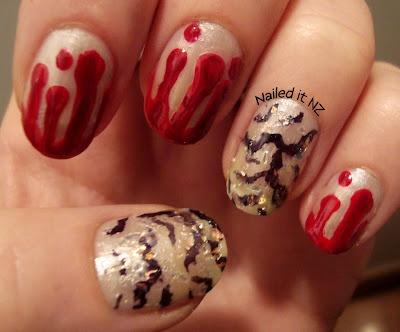 The 25 best vampire nails ideas on pinterest halloween nail art nailed it nz nail narcotics giveaway challenge mcdonalds nails vampire nail art prinsesfo Choice Image