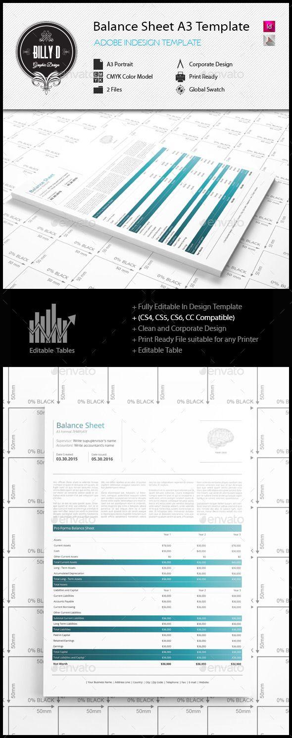 template for balance sheet